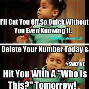 Olivia from the Cosby Show #RavenSymone #funny #humor #swerve