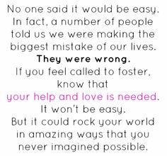 Foster Care More