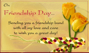 friendship day 2014 wishes card send this memorable friendship card to ...