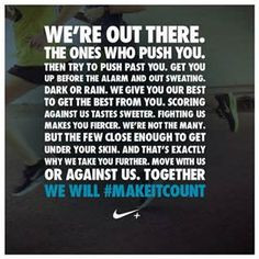 nike women quotes bing images more makeitcount nike nike motivation ...