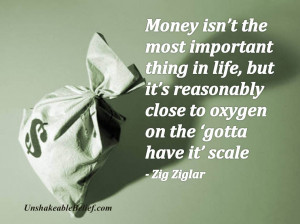 Inspirational-Life-Quotes - Money - Ziglar
