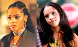 tvandtoast:Left: Bianca Lawson in Buffy circa 1998Right: Bianca Lawson ...