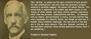 Frederick gowland hopkins famous quotes 5