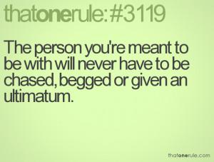 Ultimatum Quotes