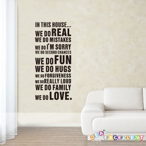 ... , vinyl quote wall decal, text wall sticker, best for home decoration