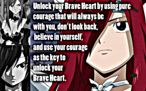 Back > Gallery For > Fairy Tail Quotes Erza