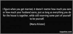 More Marta Kristen Quotes