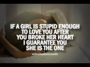 Quotes For Stupid Girls In Love