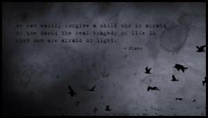 Plato Quote Tragedy of Life – Gotham HD Wallpaper