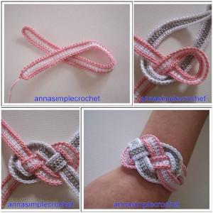 ... to the tutorial >> DIY Crochet Bracelet Tutorial > More Creative Ideas