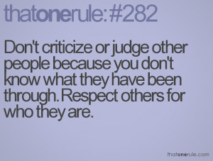 Do Not Judge Others Quotes