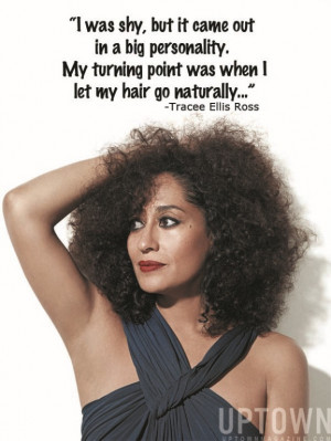 Tracee Ellis Ross Takes Natural Hair Uptown