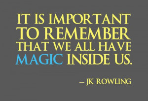Rowling quote