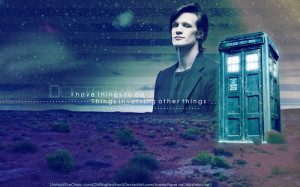 matt smith/doctor who picture