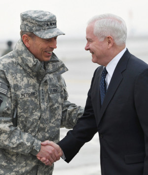 Security Assistance Forces Afghanistan General David Petraeus ...