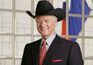 Larry Hagman reprised his original role as J.R. Ewing in