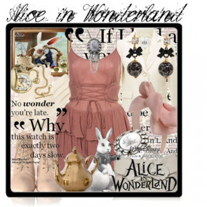 alice in wonderland quotes white rabbit 2010