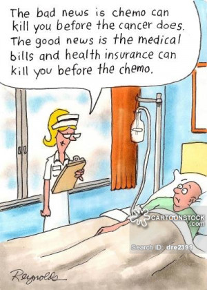 Cancer cartoons, Cancer cartoon, funny, Cancer picture, Cancer ...