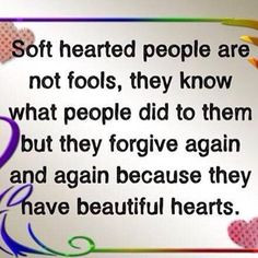 Soft hearted people are.... #Quotes #Daily #Famous #Inspiration # ...