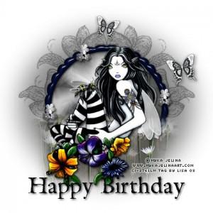 Fairy Happy Birthday Image