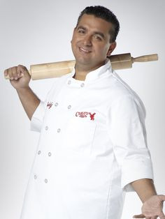 Buddy Valastro..love to watch him and cake boss cake boss, baker
