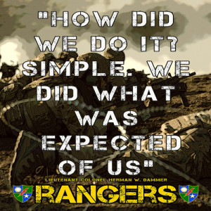 army ranger quotes
