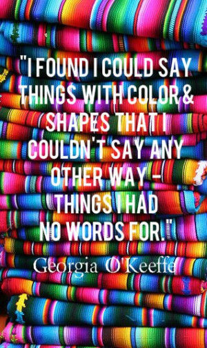 Magic Monday : Inspiring Color Quotes