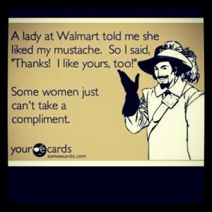 Walmart #mustache