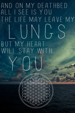 Bring Me The Horizon Deathbeds Lyrics Deathbeds, bmth, bring me