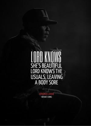 Love Quotes Kendrick Lamar Kendrick lamar quotes