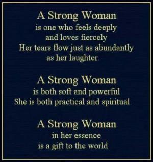 AM A STRONG WOMAN!