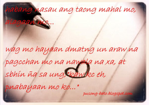 ... keep coming back and stay updated for more.. Tagalog Love Quotes Image