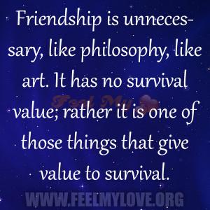 Friendship Unnecessary Like