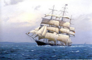 Poets & Writers' quotes about sea & ships