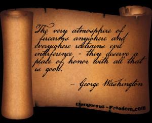 George Washington Quotes On Guns