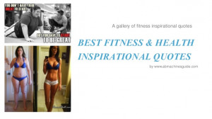 Best Fitness & Health Motivation Quotes