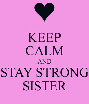 Keep Calm and Stay Strong Demi
