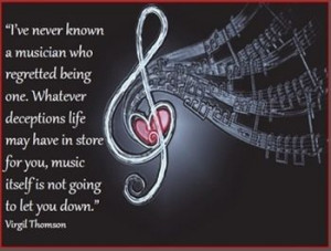 ... quotes about music!From Beethoven to BB King, Billy Joel and JewelYou