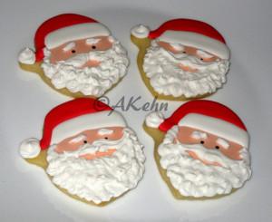 cookies sandy claws cookies christmas cookies santa christmas cookies ...