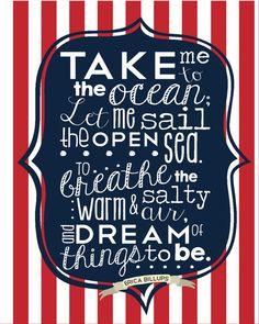 Poem By Erica Billups} Ocean Quotes Sea Boats Sailing