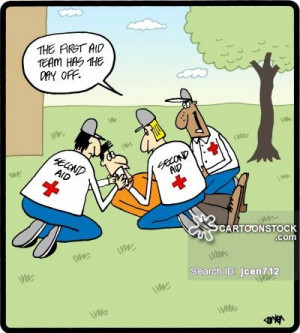 First Aid cartoons, First Aid cartoon, funny, First Aid picture, First ...