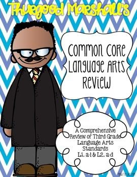 Thurgood Marshall's Language Review {Common Core Language Practice ...