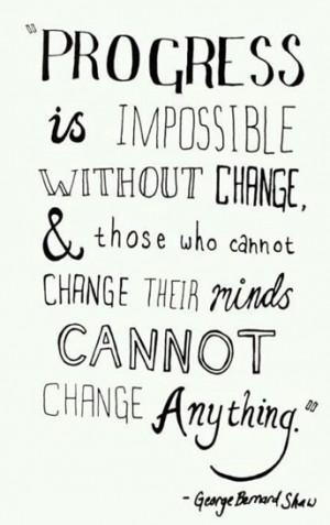 change is always good