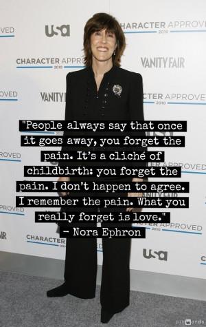 Nora Ephron Quotes To Get You Through A Breakup (PHOTOS)