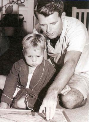 Children Bobby Kennedy And Ethel Skakel