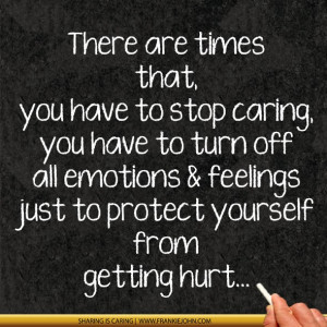Stop Caring What People...