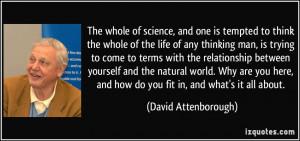 More David Attenborough Quotes