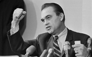 George Wallace, the former Governor of Alabama and four times ...