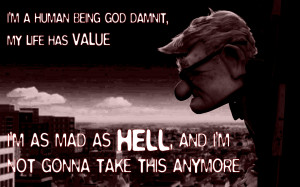 Quotes Hell Wallpaper 1440x900 Quotes, Hell, Up, Movie, The, Network