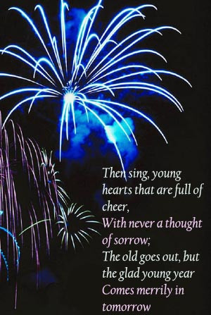 ... New Year quotes for you, and it is put very succinctly in her little